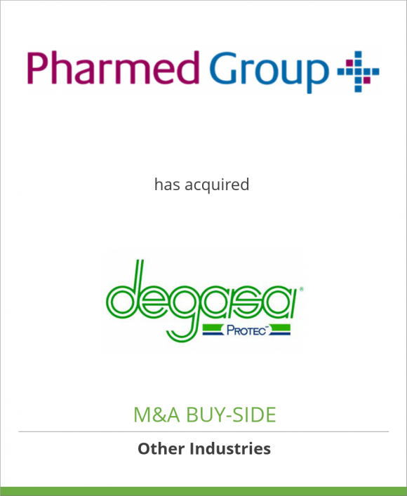 Pharmed Group Holdings, Inc. has acquired Degasa, S.A. de C.V.