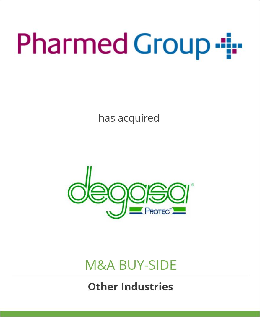 Pharmed Group Holdings, Inc. has acquired Degasa, S.A. de C.V.