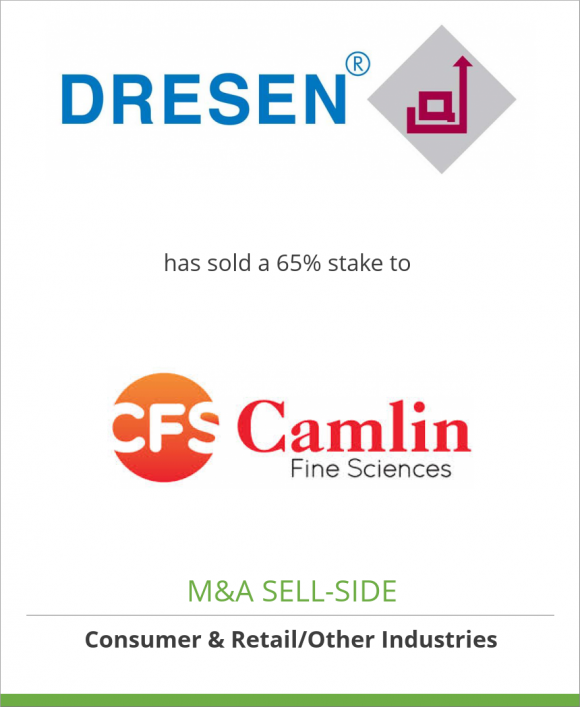 Dresen Quimica, S.A.P.I. de C.V. has sold a 65% stake to Camlin Fine Sciences