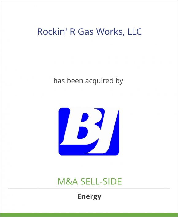 Rockin' R Gas Works, LLC has been acquired by BJ Services