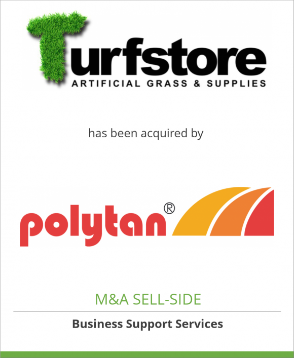 Turfstore.com, Inc. has been acquired by Polytan