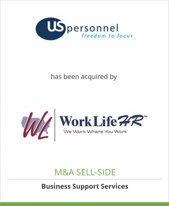 USPersonnel, Inc. has been acquired by WorkLifeHR