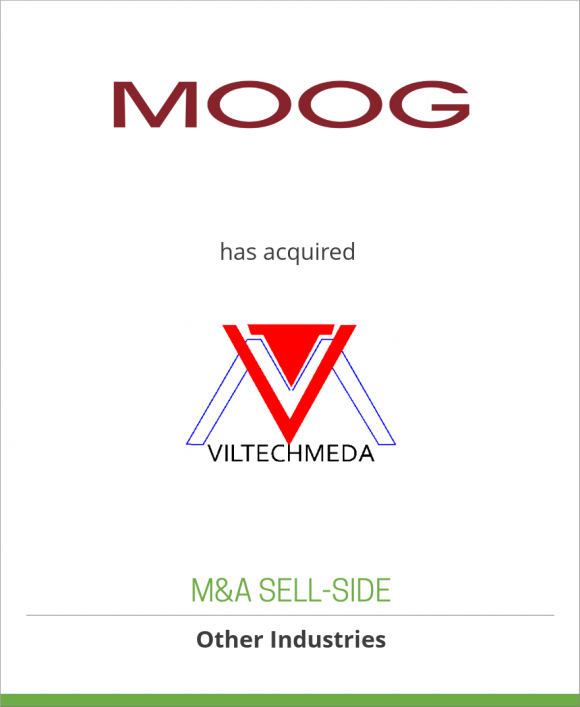 Viltechmeda has been acquired by Moog Inc.