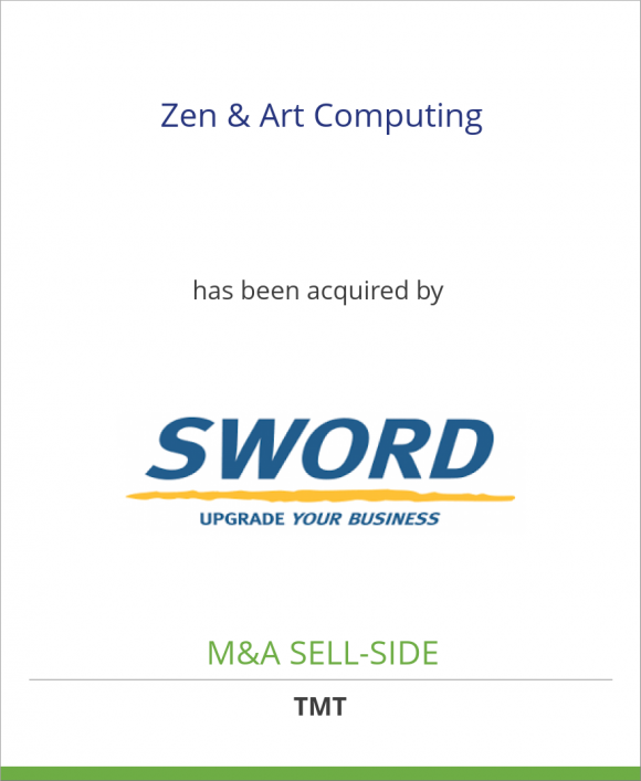 Zen & Art Computing has been acquired by Sword Group