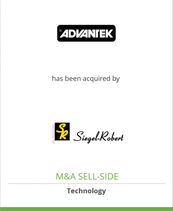 Advantek has been acquired by Siegel-Robert