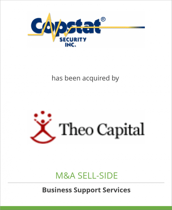 Copstat Security Inc. has been acquired by Theo Capital