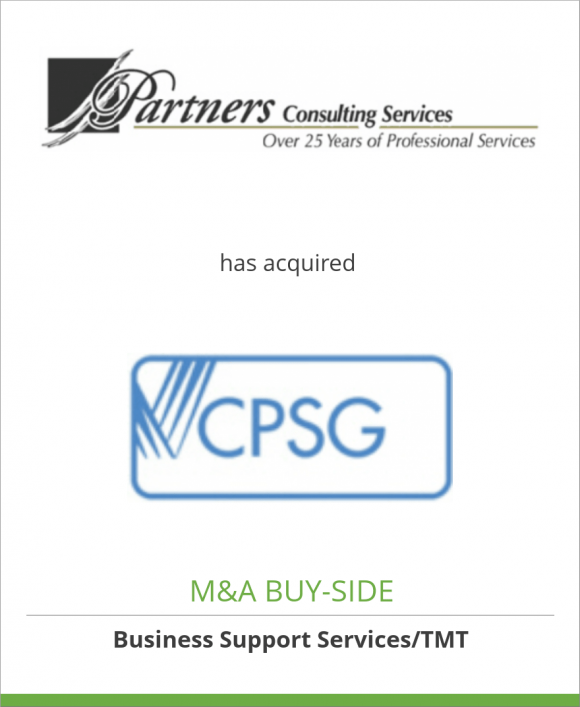 Partners Consulting Services has acquired CPSG