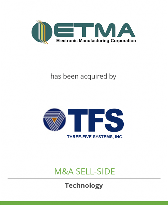 ETMA has been acquired by Three-Five Systems, Inc.