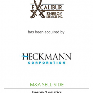 Excalibur Energy Services LLC has been acquired by Heckmann Water Resources, Inc.