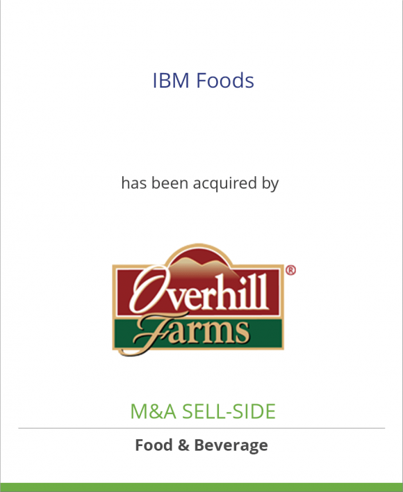 IBM Foods, Inc. has been acquired by Polyphase Corp./Overhill Farms