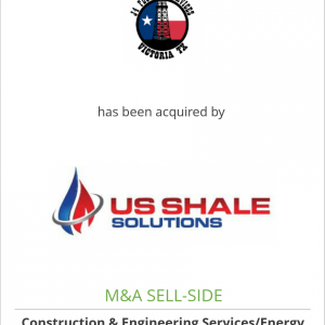J4 Fluid Services, Inc. has been acquired by U.S. Shale Solutions, Inc.