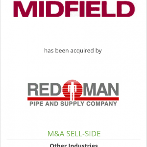 Midfield Supply Ltd. has been acquired by Red Man Pipe & Supply Co.