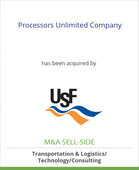 Processors Unlimited Company has been acquired by USF Logistics