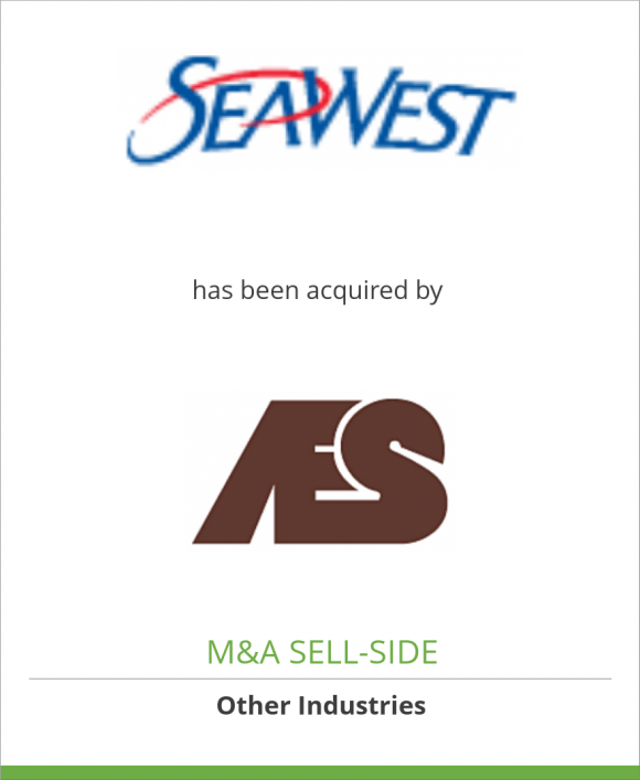 SeaWest WindPower, Inc. has been acquired by AES Corporation
