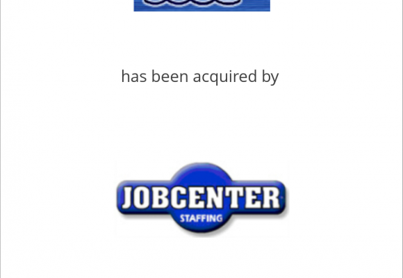 SOS Temporary Services has been acquired by JobCenter, Inc.
