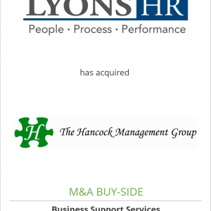 Lyons HR has acquired The Hancock Management Group