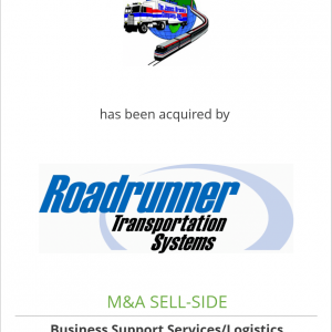 The James Brooks Company has been acquired by Roadrunner Transportation Systems