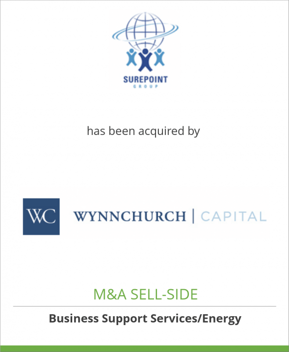 The Surepoint Group has been acquired by WynnChurch Capital