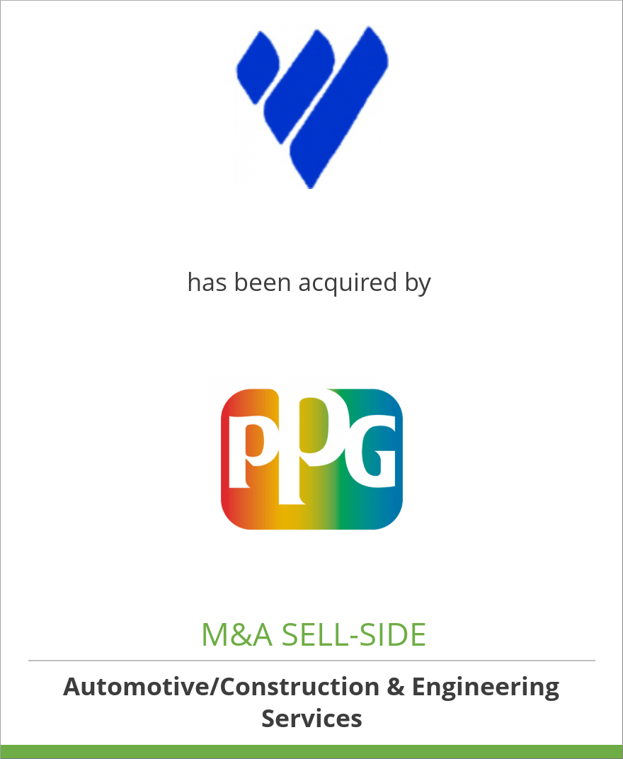 Vanex, Inc. has been acquired by PPG Industries, Inc.